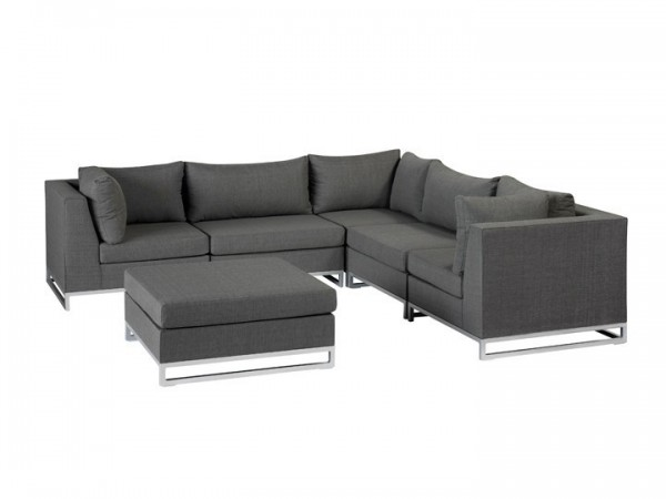Chill-Lounge Living Rhodos Outdoor Lounge Set - grau