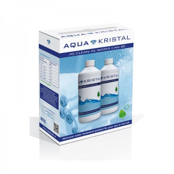 Aqua Kristal Set - 2 x 1 L Flaschen (anstelle von Aqua Clear)