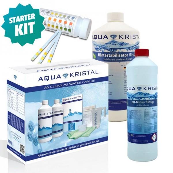 Wasserpflege Starterkit Aquakristal