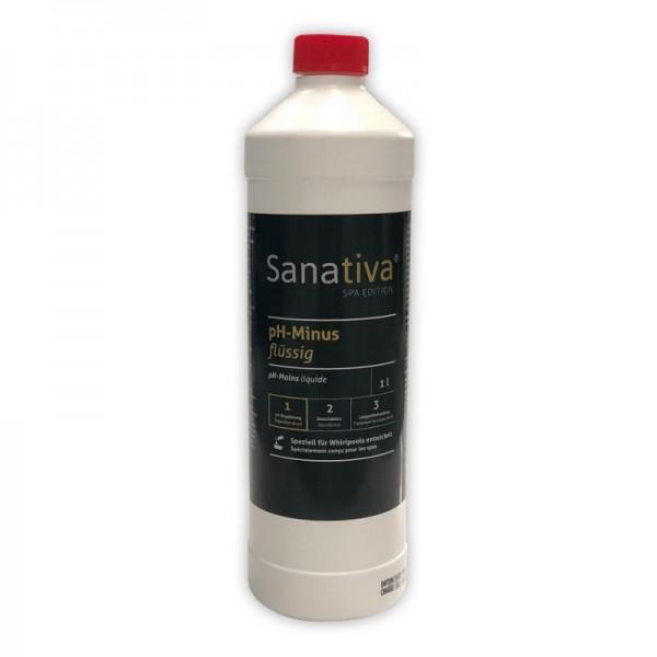 Sanativa SPA Edition pH-Minus flüssig 1 L