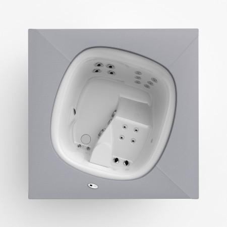 Whirlpool - Jacuzzi Flow - 2 Personen Designer Whirlpool