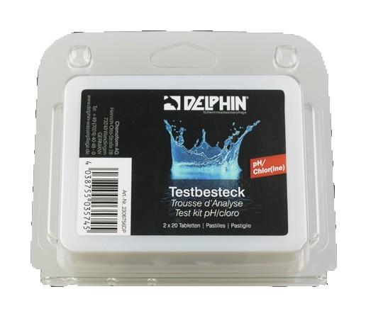 Whirlpool Zubehör Delphin Testbesteck Chlor