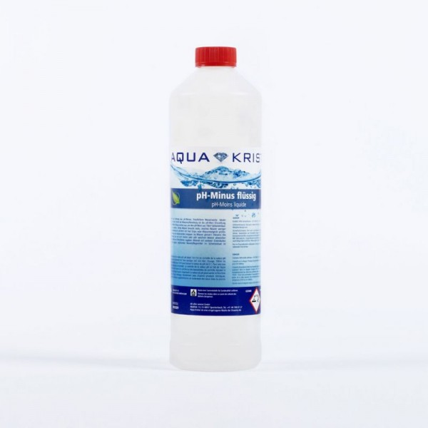 Aqua Kristal pH Minus flüssig 1 Liter